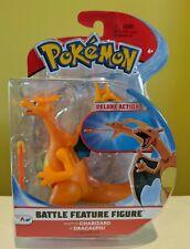"Pokemon Battle Feature Figure CHARIZARD Deluxe Action 4.5"" Series 3 NEW!"