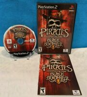 Pirates: Legend of the Black Buccaneer (Sony PlayStation 2, 2006) with Manual