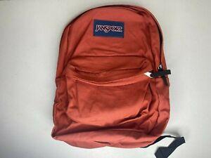 JanSport Superbreak Classic Backpack Scarlet - Brand New