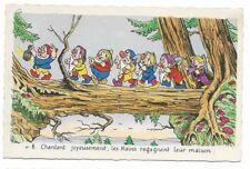 Carte Postale - WALT DISNEY - Edition Superluxe Paris  Blanche Neige  N°8