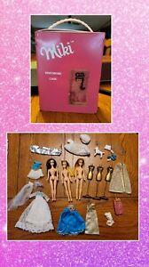 WOW! VTG LOT 1970 mini dawn rock flower mini barbie dolls & accessories
