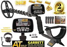 Garrett AT Gold Nugget Metal Detector 100% Water Submersible Free Land Phones