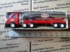 Vintage Buddy L Texaco Tank Truck Sturdy Steel In Box   With Smoke Stack