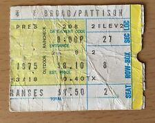 1975 LED ZEPPELIN PHILADELPHIA SPECTRUM CONCERT TICKET STUB ROBERT PLANT PAGE