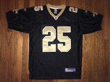 New Orleans Saints Reggie Bush Jersey Reebok Official Mens Size 50 Preowned NFL