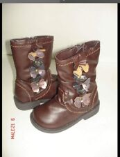 Sonoma Life+Style  Toddler Girls Boot shoes - Size 5 - Color Brown