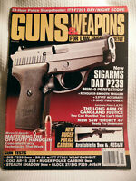 GUNS & WEAPONS FOR LAW ENFORCEMENT MAGAZINE~ NOV 1996 ~ NEW SIGARMS DAO P239