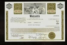 MONSANTO COMP  ( now Bayer )Creve Coeur Missouri USD 25,000 old bond certificate