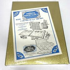 New ListingNew Parker Photo Albums Gold on Ivory in Dust Box Sleeve 5 Pages Sealed 35Mm