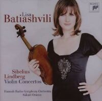 "LISA BATIASHVILI ""VIOLIN CONCERTOS"" CD NEUWARE"