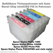 Refill SET Epson Stylus Photo t0797 NON OEM incl. 600ml Vivid pigmento Ink