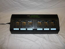 MOTOROLA CP140, CP150, CP200 AND MORE 6 BAY UNIVERSAL BATTERY CHARGER CLEARMAXX