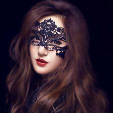 Neuheit Schwarz Sexy Dame Maske Augenmaske Kostüm Spitze Gesicht Gothic Masken