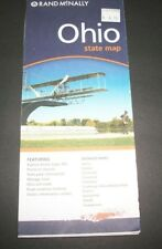 OHIO  STATE Rand McNally  2006 Paper Folded Map  NEW