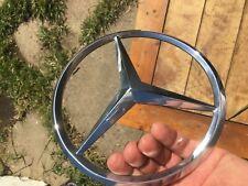 Mercedes Benz 107 450 380 560 SL SLC front grille hood star emblem