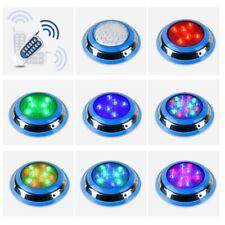 54W RGB Swimming Pool Underwater LED Lights Remote Control RoHs Lamp Waterproof