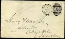 1881 INLAND REVENUE Fiscal 1d Used Postally NEWPORT/Salop