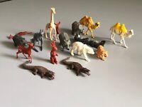 Vintage Plastic Animals  Marx Timee