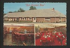 New Jersey NJ postcard Chester, Red Cricket Inn restaurant & bar