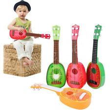 Kids Children 4 String Guitar Development Music Instrument Toy Fruit Ukulele