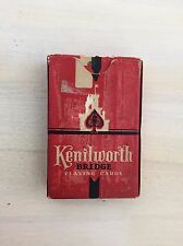 VTG BRIDGE CARDS - Deck Of Kenilworth Playing Cards, Flowers, 1939, RARE!