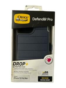 """OtterBox Defender Series Pro Case + Holster for iPhone 12 Pro Max (6.7"""") Black"""
