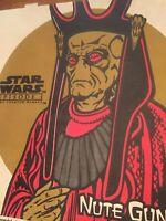 VTG Star Wars Episode 1: Phantom Menace Nute Gunray Pizza Hut Box Memorabilia