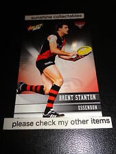 2012 SELECT AFL CHAMPIONS BASE CARD NO.60 BRENT STANTON ESSENDON