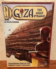 Giza The Great Pyramid Mayfair Board Game New Sealed FREE SH David Heberer 4122