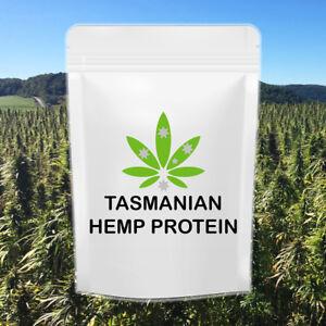 HEMP PROTEIN POWDER ORGANIC TASMANIAN GROWN FRESH 1kg FAST&FREE DELIVERY