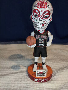 WINDY CITY BULLS~Los Toros~Dia De Los Muertos~Collectible Bobblehead~NICE?