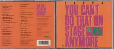 Frank Zappa - You Can't Do That on Stage Anymore, Vol. 6  2 CD 1992 RCD 10091/92