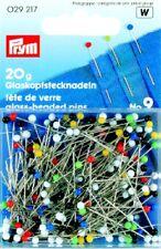 Glass head pins no. 9 0,6 x 30 mm from Prym 029217