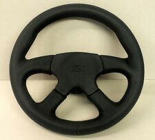 Ford Escort RS Turbo steering wheel retrimming service - leather or Alcantara