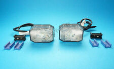 2 x LED Aspock FlexiPoint Front Marker Lamps Ifor Williams Brian James Trailer