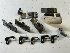 Union Special 51400 1/4 Inch Plates And Feeds Assortment + Foot. Industrial Sew