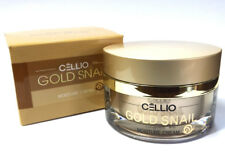 [Cellio] Gold Snail Moisture Cream 50ml(1.7oz)/ Anti-wrinkle,elastic,snail mucus