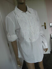 Betty Barclay tolle Bluse 44/42 langarm weiß