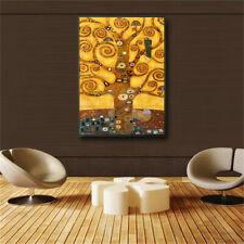 Gustav Klimt Tree Of Life Wall Art Canvas Prints Life Tree Famous Painting