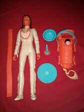 Marx Toys Best of the West Princess Wildflower with papoose baby bowl and more