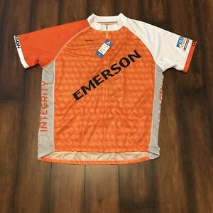 Primal Wear 3XL Cycling Team Emerson 2019 Sport Cut Raglan Jersey 3/4 Zip Men's