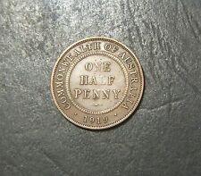 1919 Australian Half Penny,