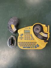 Brady Idxpert Keyboard Layout Handheld Labeler With Accessories Labels Working