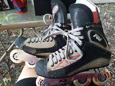 Mission RM Detonator Inline Hockey Skates Sz 11D US Men Shoe Roller Blade used