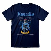 Men's Harry Potter Ravenclaw Crest Blue T-Shirt - Hogwarts House Tee