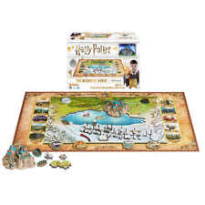 Harry Potter The Wizarding World 4d Puzzle With 3 Layers and Over 890 Pieces