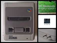SUPER NINTENDO 1 CHIP 50/60 HZ PAL/NTSC - RGB BYPASS + C-SYNC THS 7314 SNES ONE