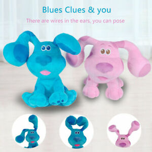 Blues Clues & You Plush Blue Dog OR Pink Dog Alarn Clocks And Mailbox Kids Gift