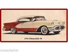 1956 Oldsmobile 98  Refrigerator / Tool Box Magnet Man Cave Gift Card Item