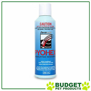 Pyohex Medicated Shampoo For Dogs and Cats 250ml